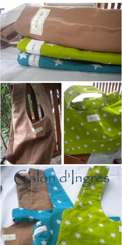 shopping bag, basique, pratique